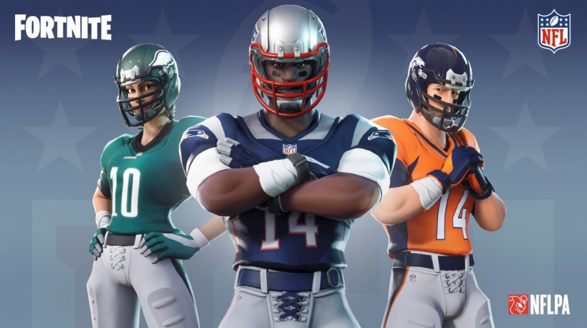 How to get NFL uniforms in Fortnite