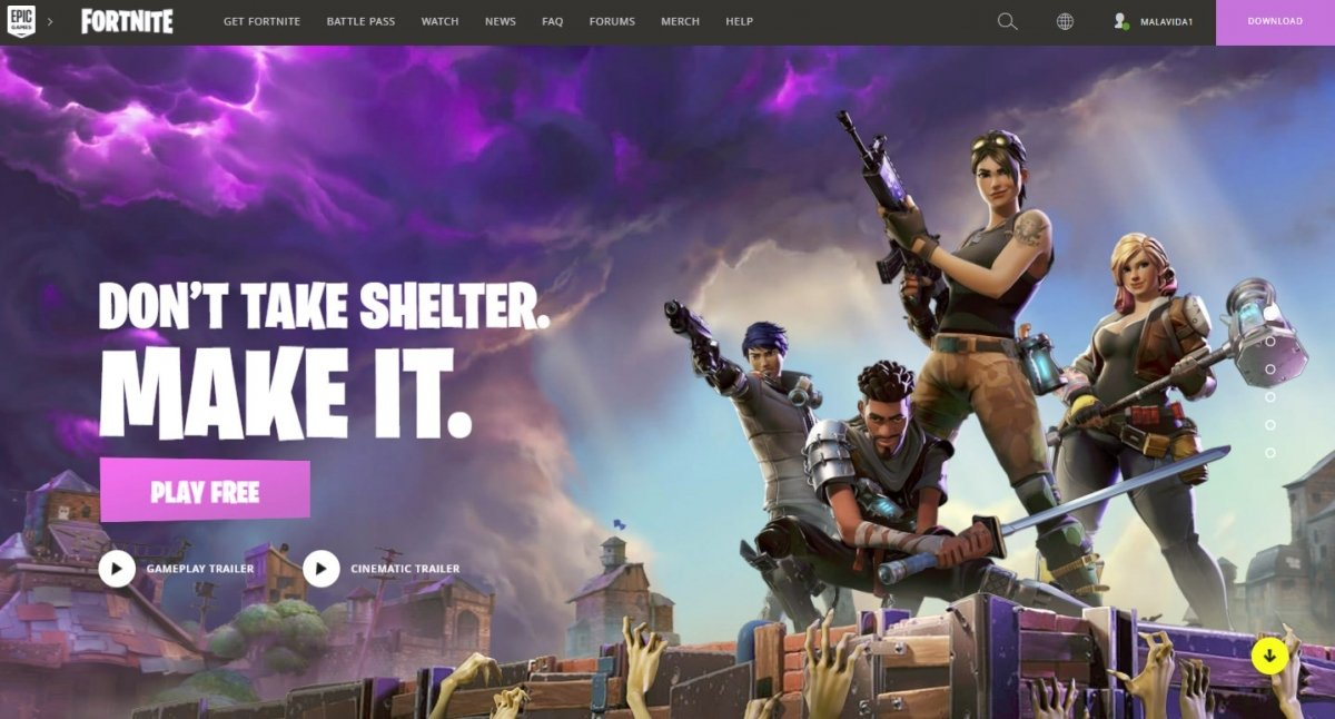 Is Fortnite for PC free?