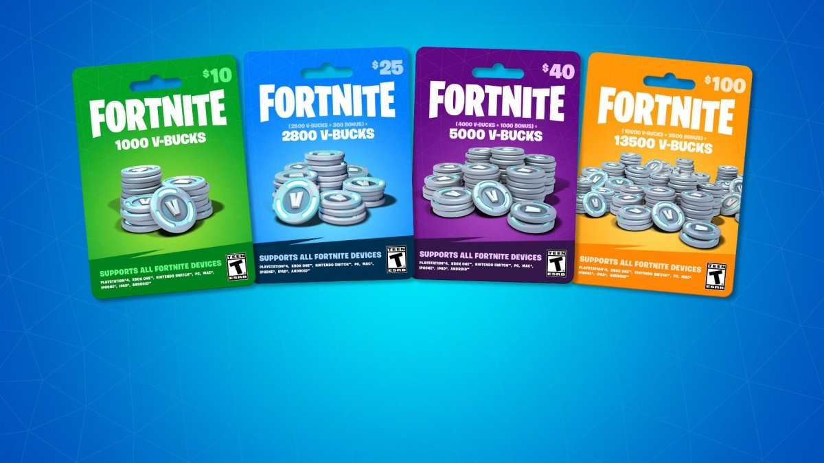 Qué son los V-Bucks en Fortnite