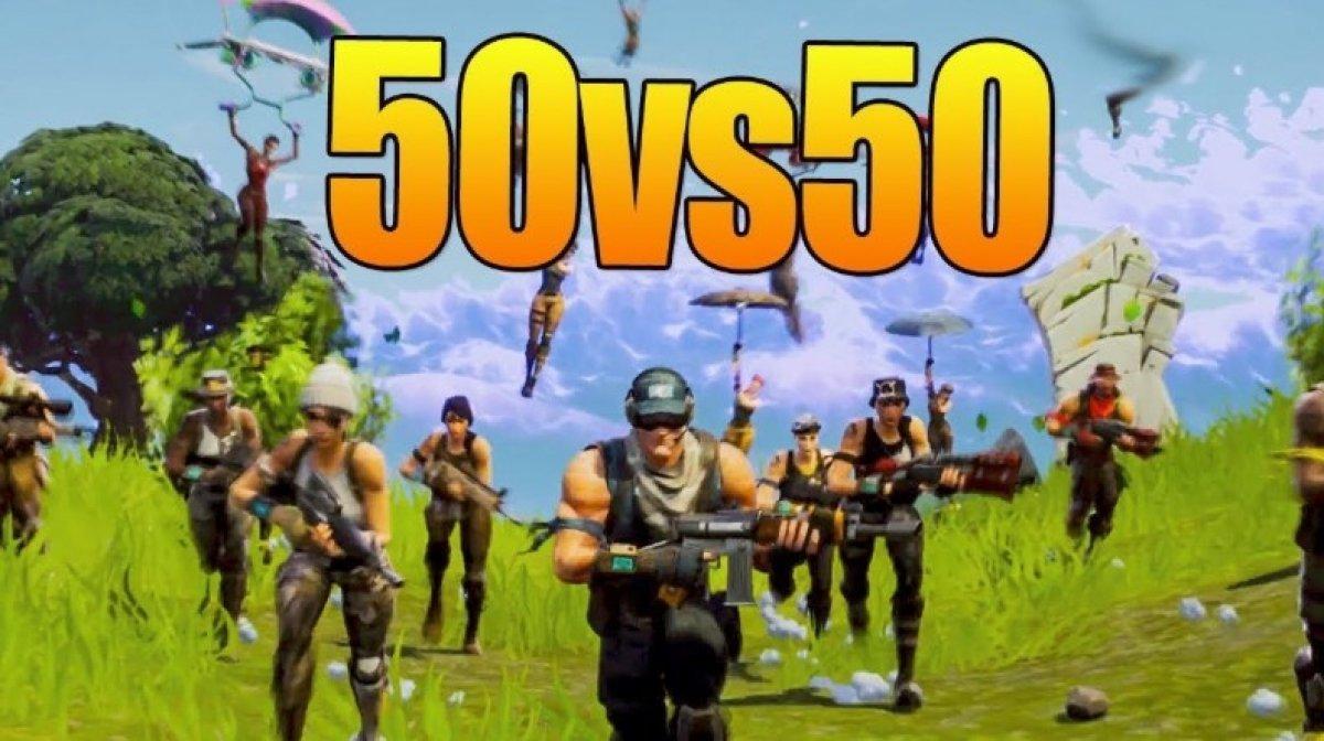 Comment fonctionne le nouveau mode 50 vs 50 de Fortnite