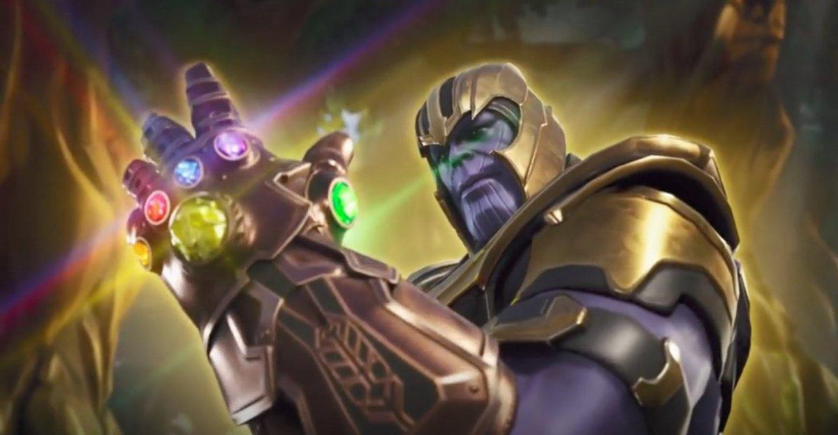 Comment jouer avec Thanos sur Fortnite