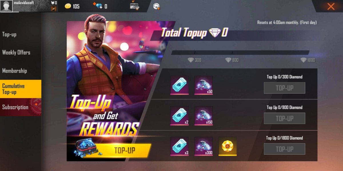 How To Get Diamonds In Garena Free Fire