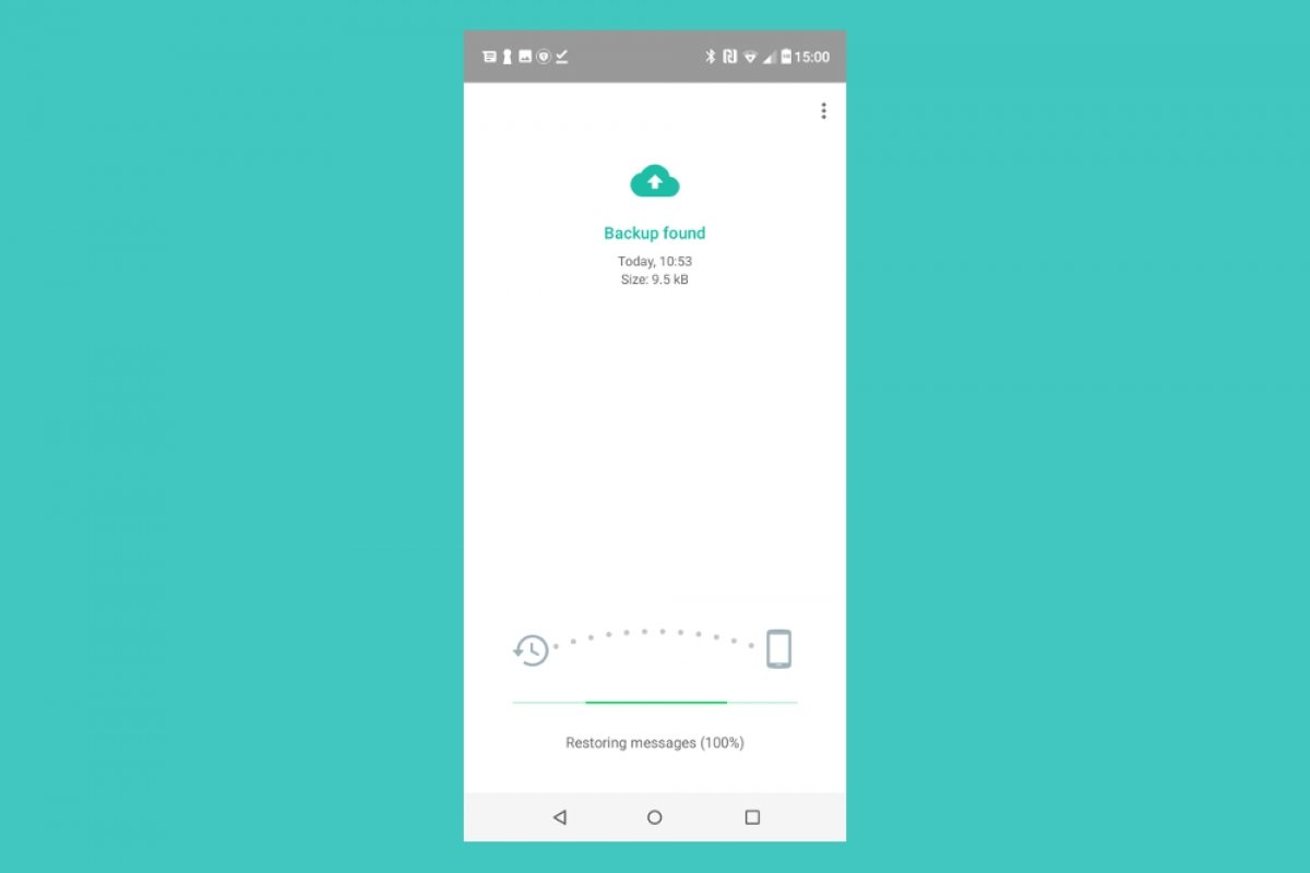 How to create and restore a backup in GBWhatsApp