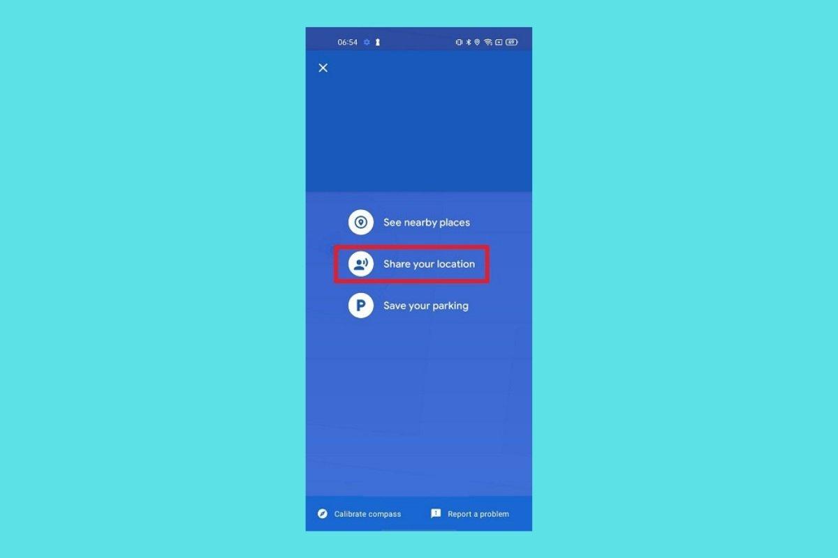 Cómo compartir la ubicación en tiempo real en Google Maps de Android