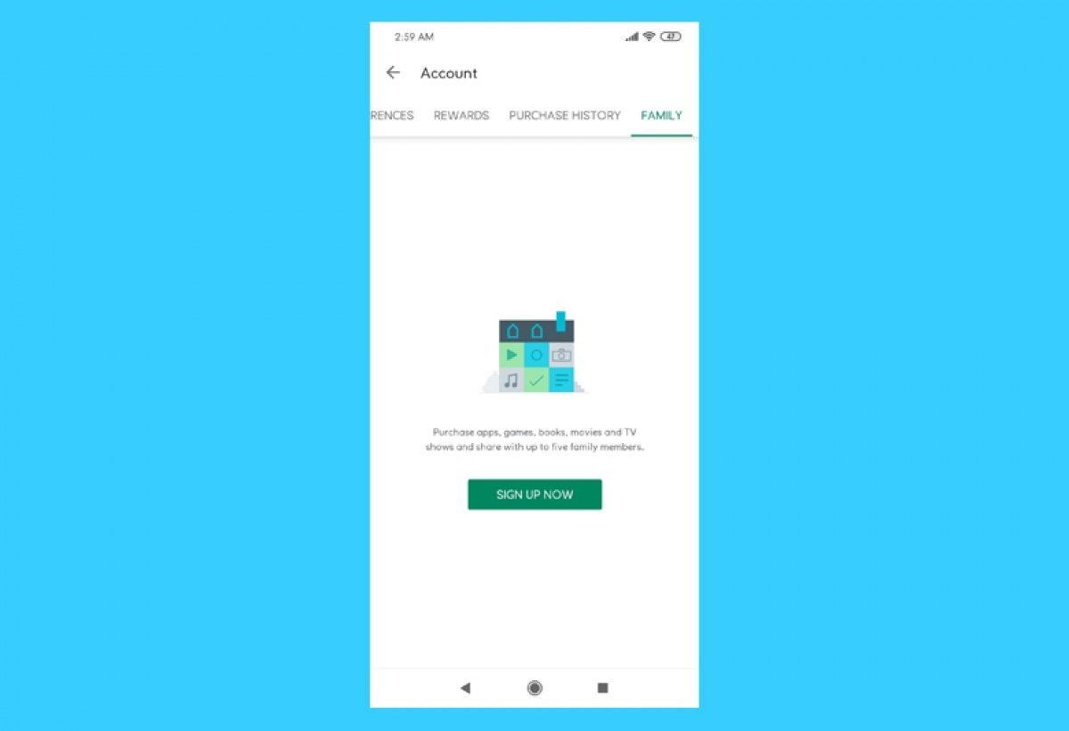 Comment partager des achats de Google Play sur Android