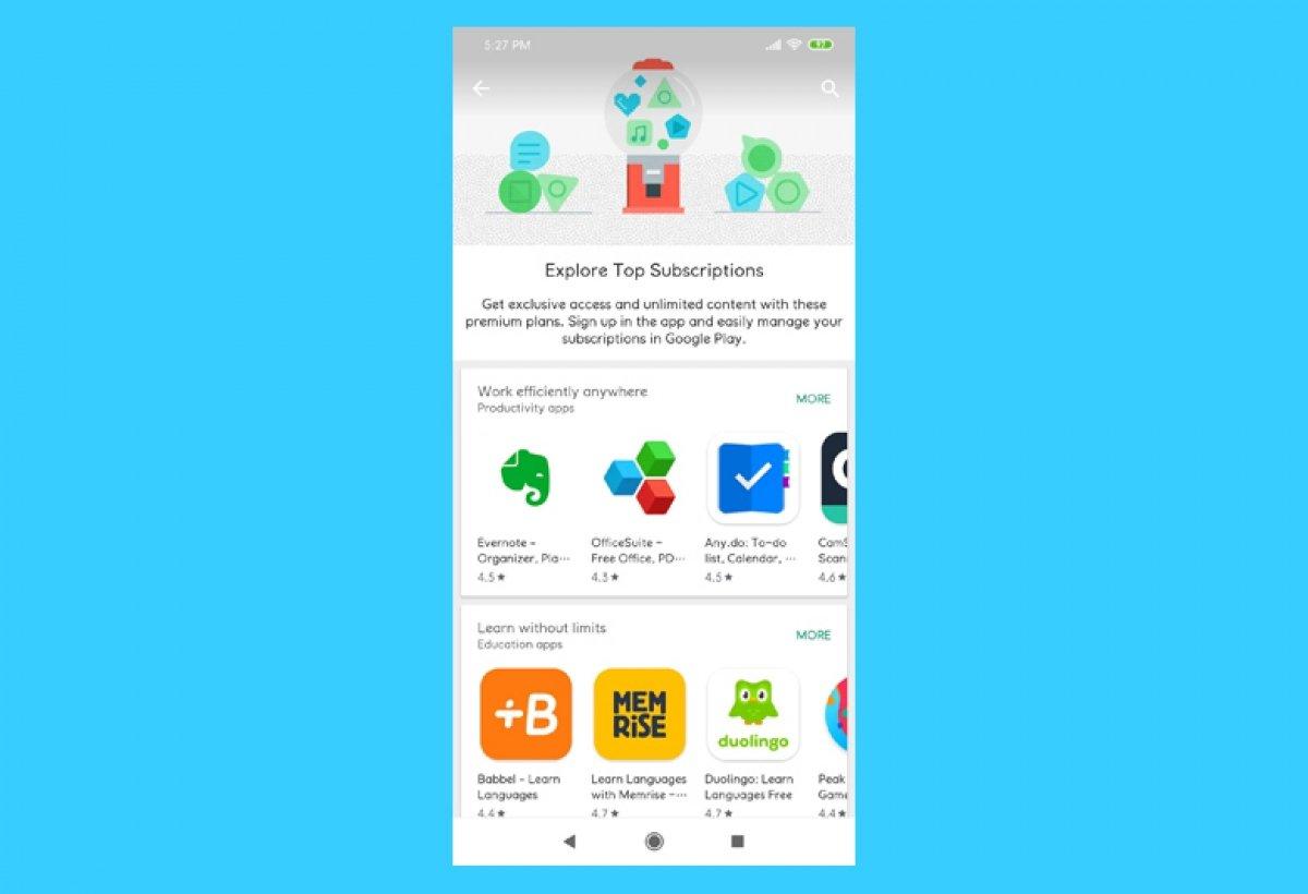 Comment gérer des abonnements sur Google Play