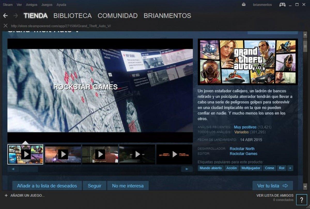Cómo descargar GTA 5 para PC