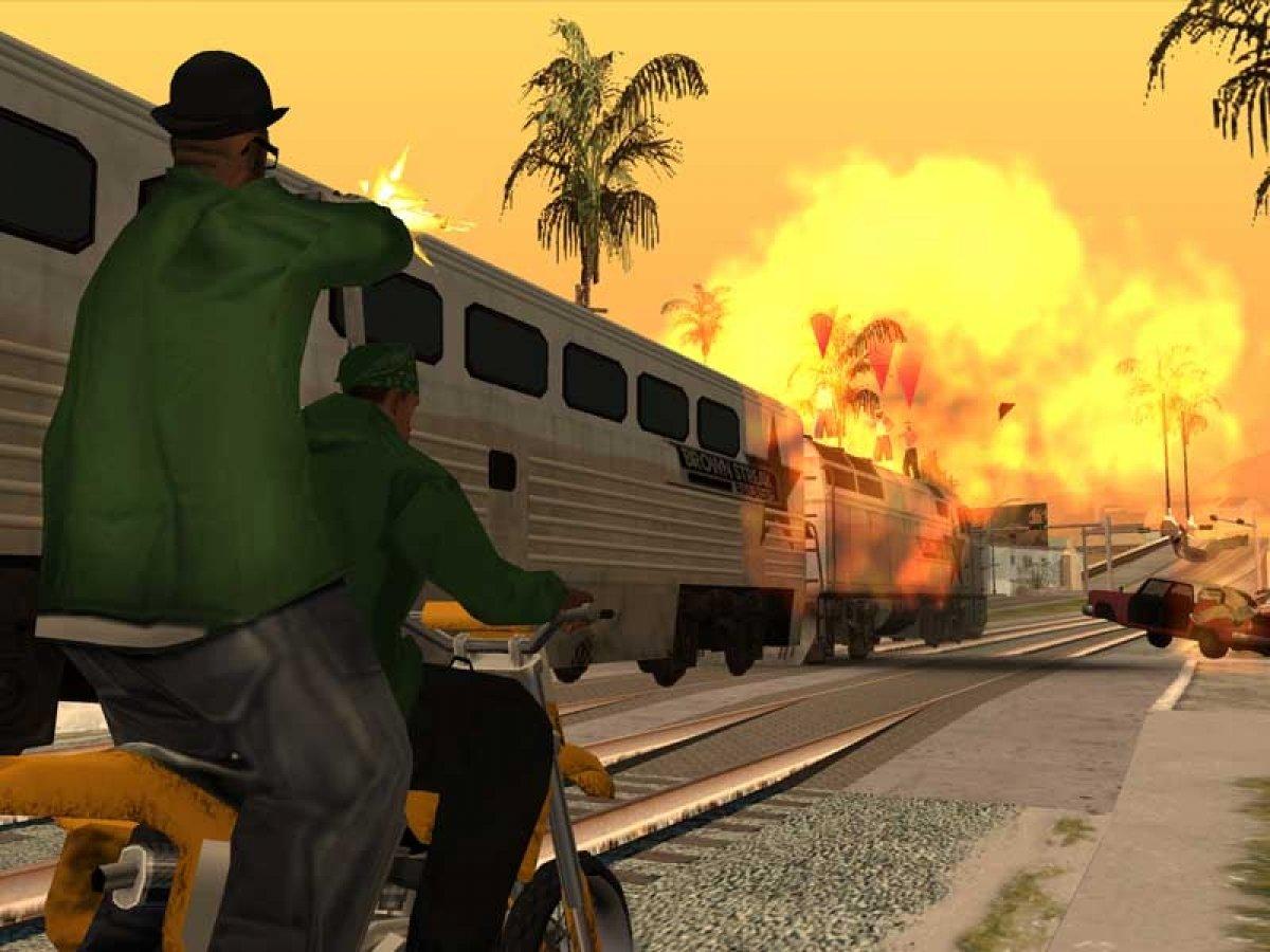 Qué es GTA San Andreas