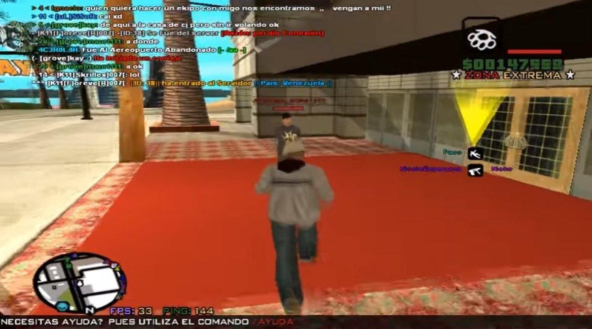 Cómo jugar a GTA San Andreas Online