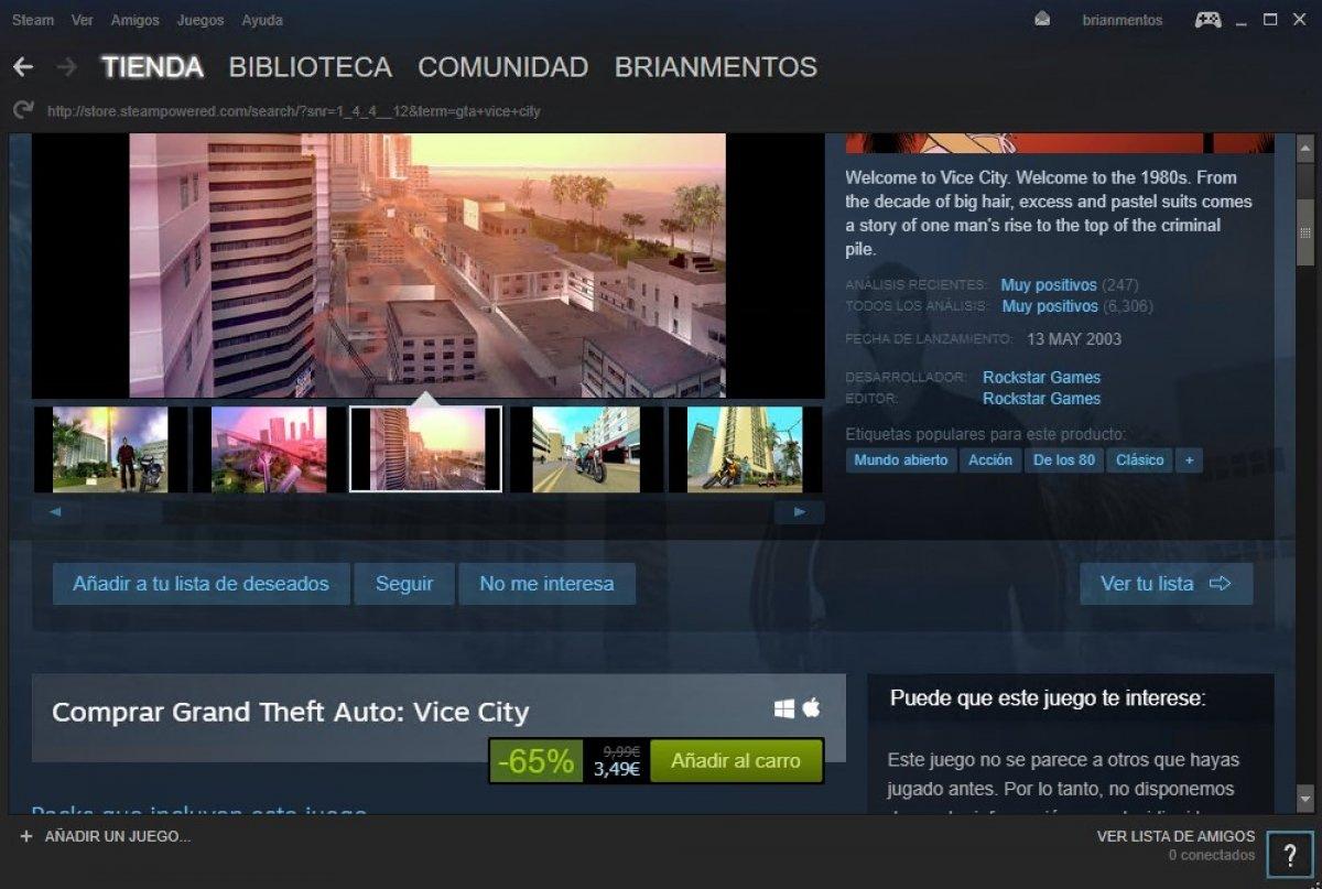 Cómo descargar GTA Vice City para PC