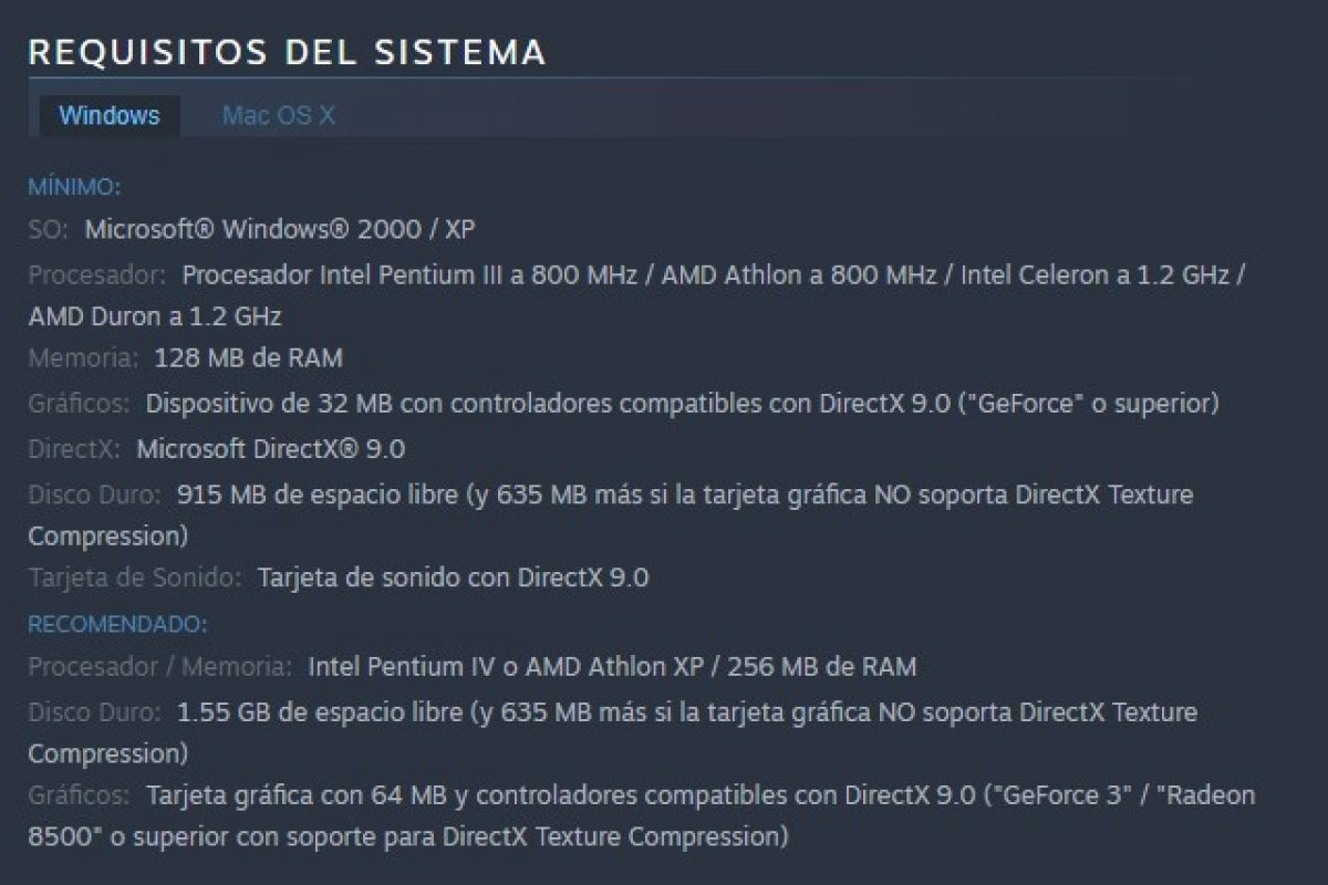 Requisitos de sistema de GTA Vice City