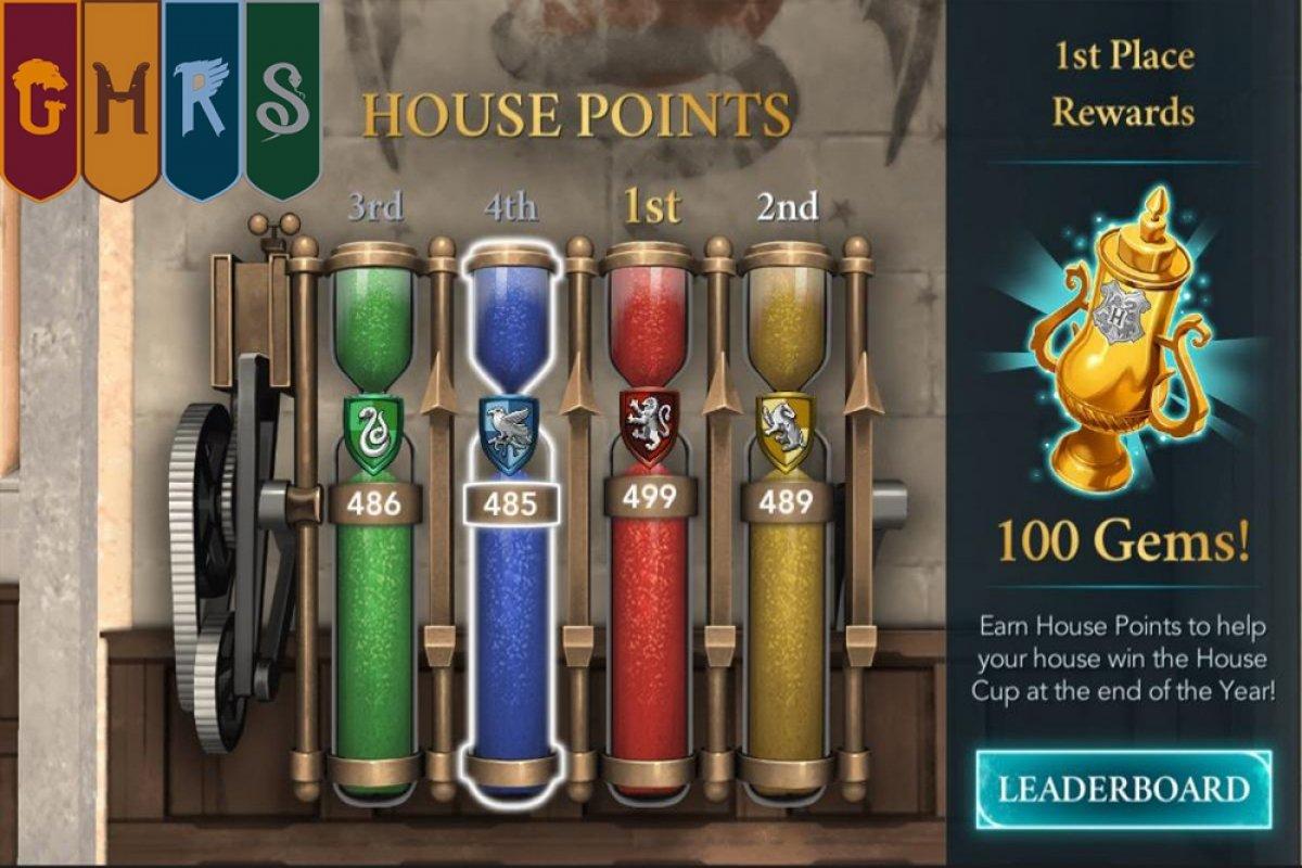 Comment gagner la Coupe des quatre maisons de Harry Potter Hogwarts Mystery
