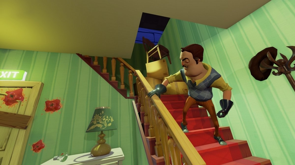 Cómo funciona Hello Neighbor