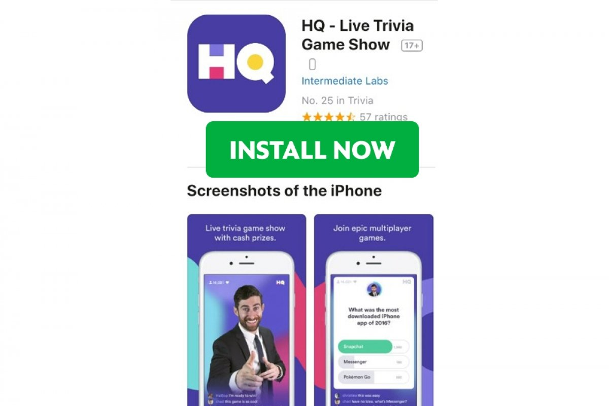 How to install HQ Trivia on iOS