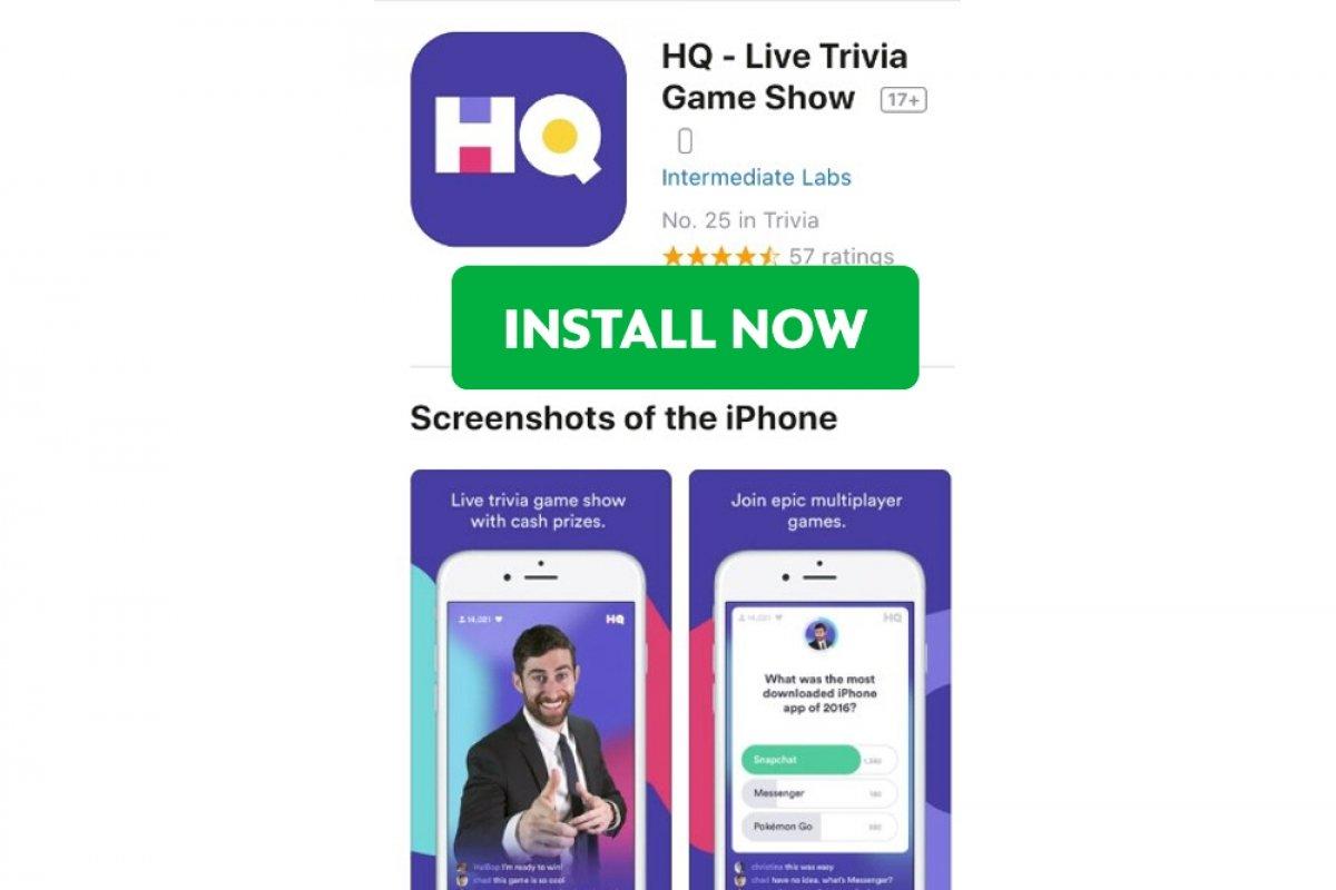 Cómo instalar HQ Trivia en iOS