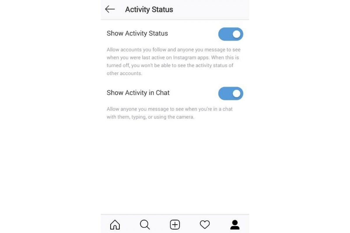 How to turn on the incognito mode in Instagram