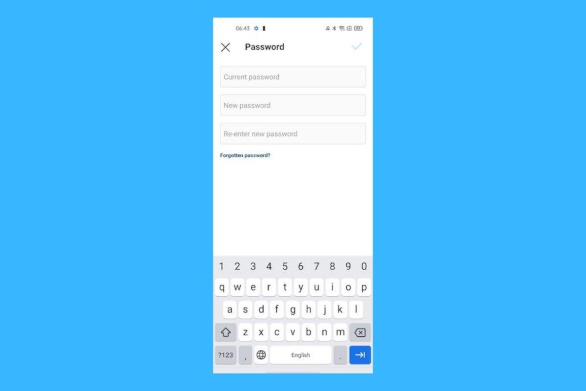 Comment changer votre mot de passe sur Instagram
