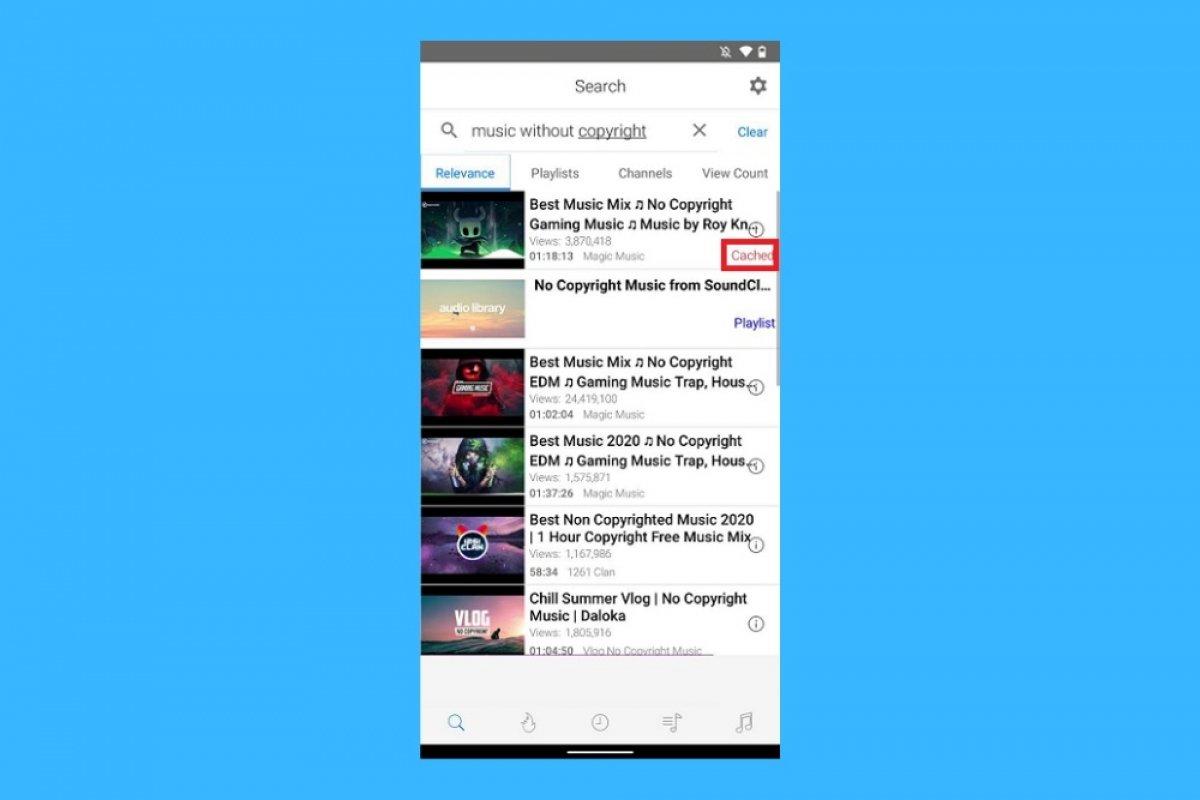 Cómo cachear vídeos en iTube