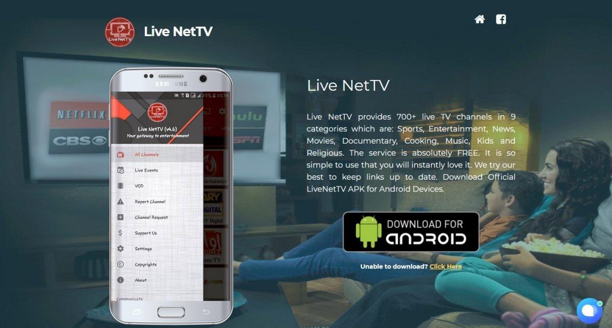 Cómo descargar Live NetTV