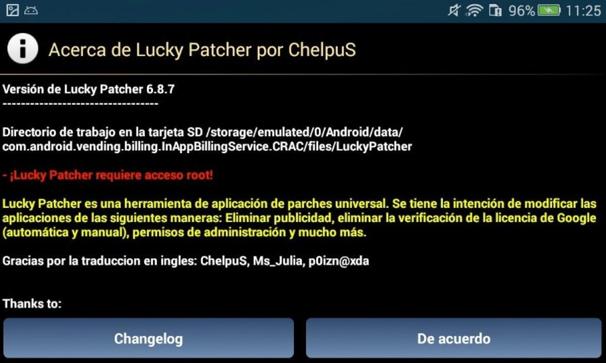 Qu'est-ce que Lucky Patcher?