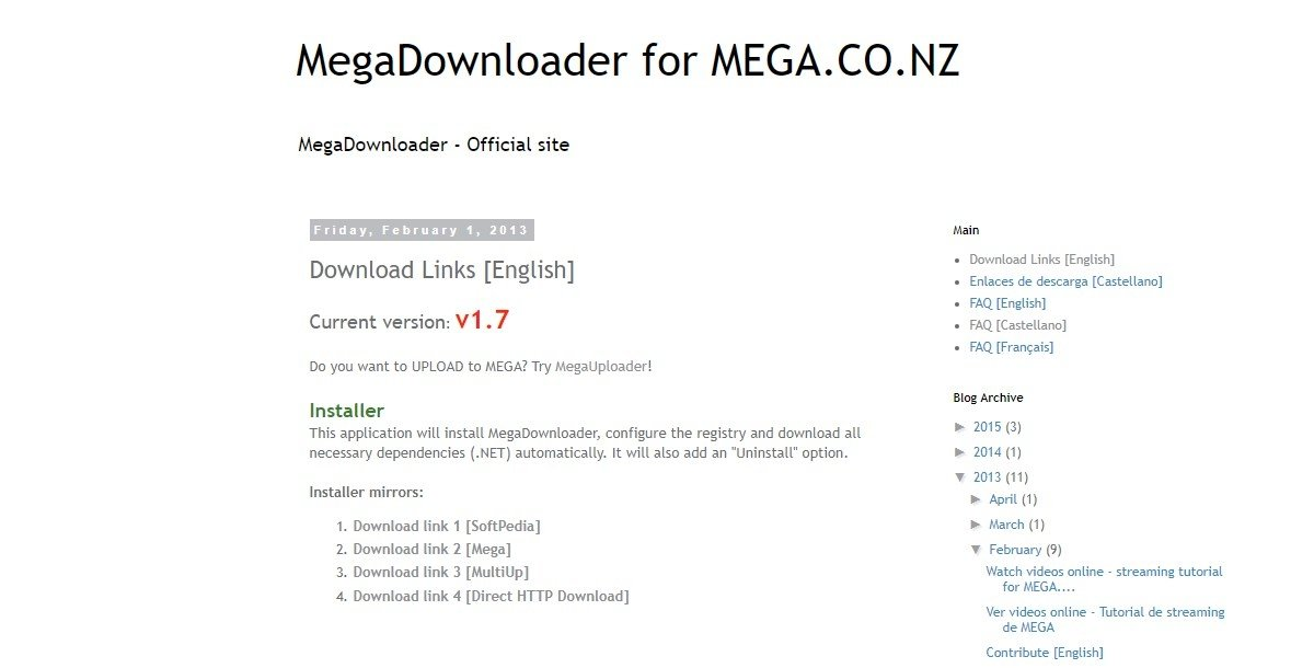 How to download MegaDownloader