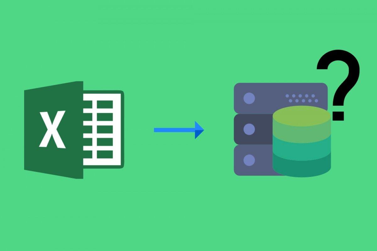 ¿Es Excel una base de datos?