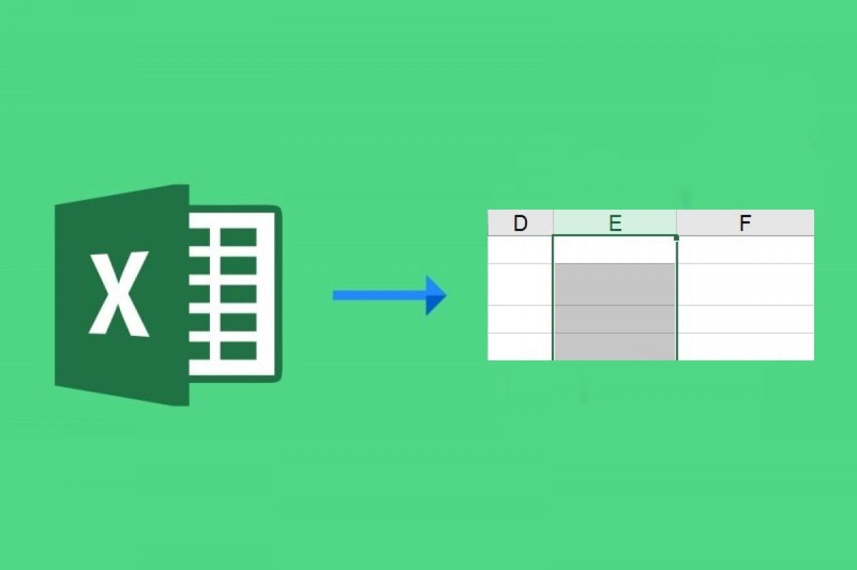 Qué es una columna de Excel