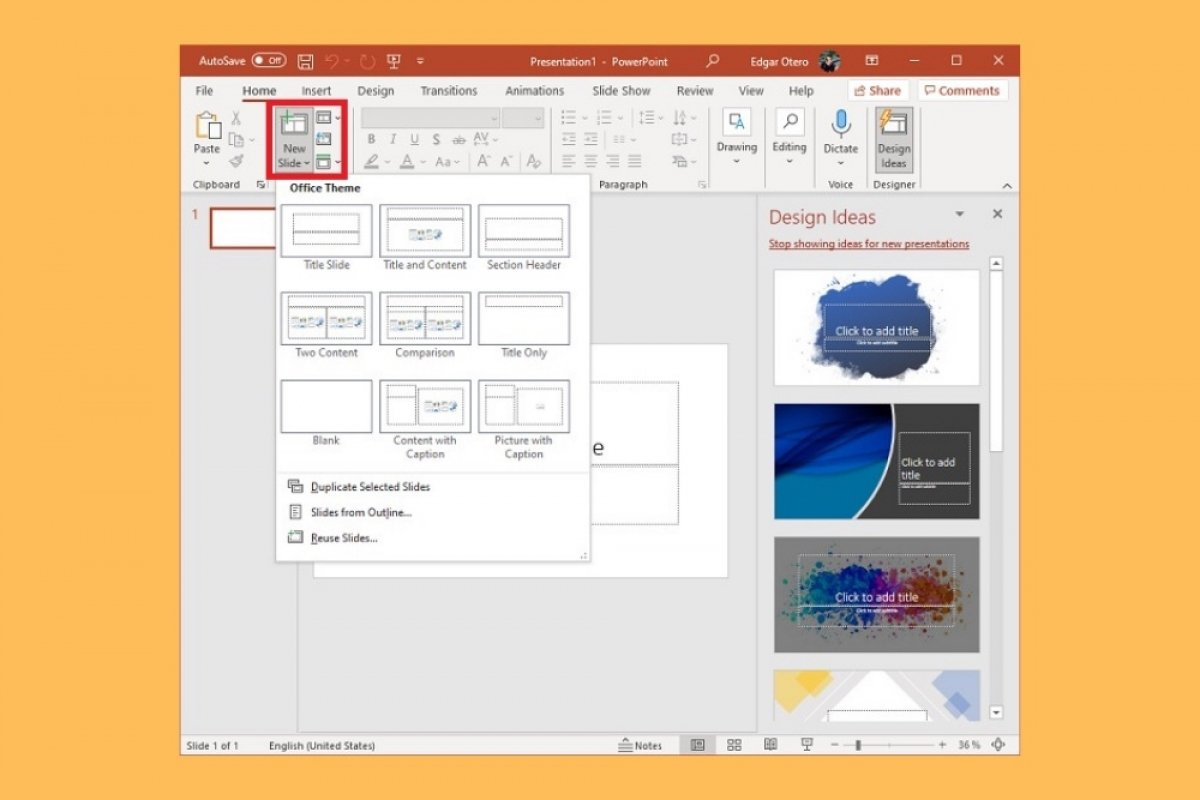 What is a PowerPoint slide