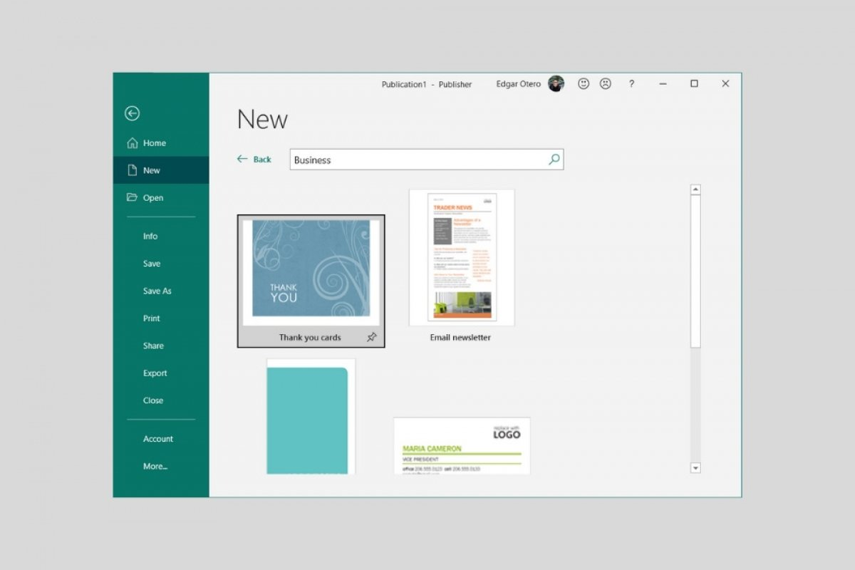 What are Microsoft Publisher templates?