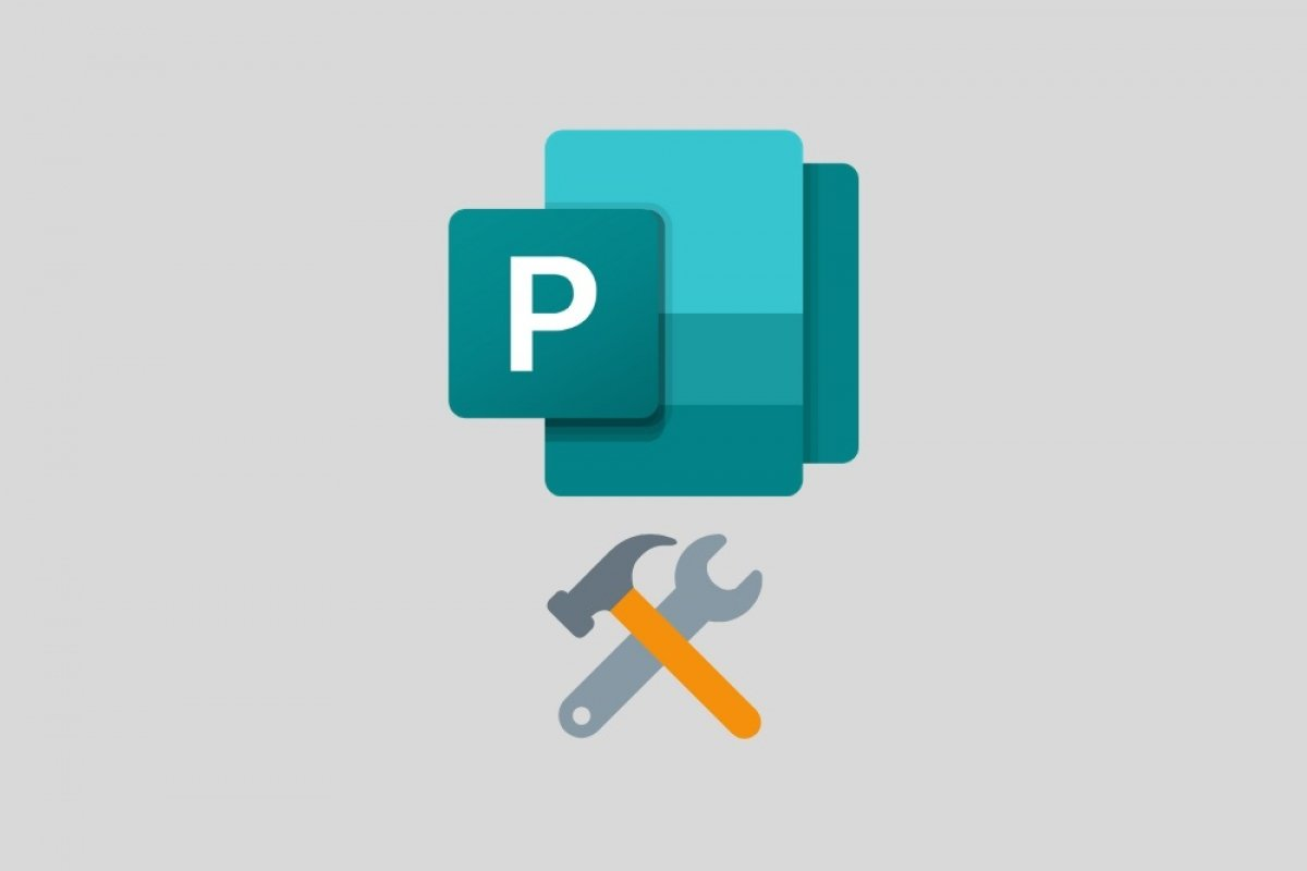 What tools does Microsoft Publisher have