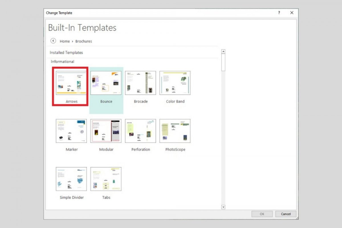 Cómo hacer un tríptico en Microsoft Publisher