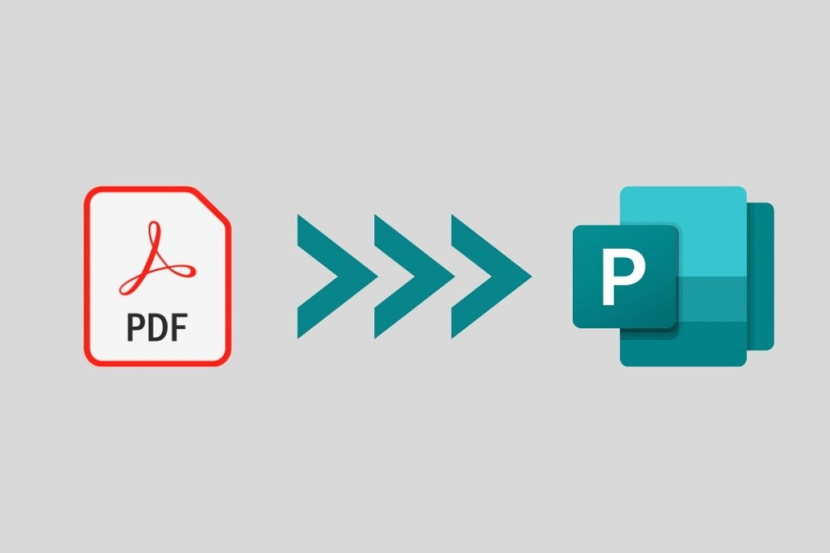 How to convert PDF to Microsoft Publisher