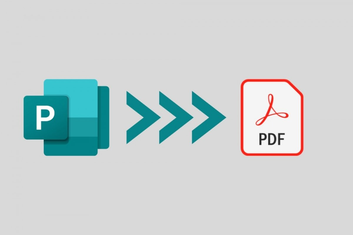 How to convert Microsoft Publisher to PDF
