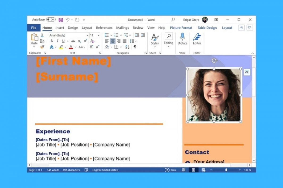 How to make a resume in Word