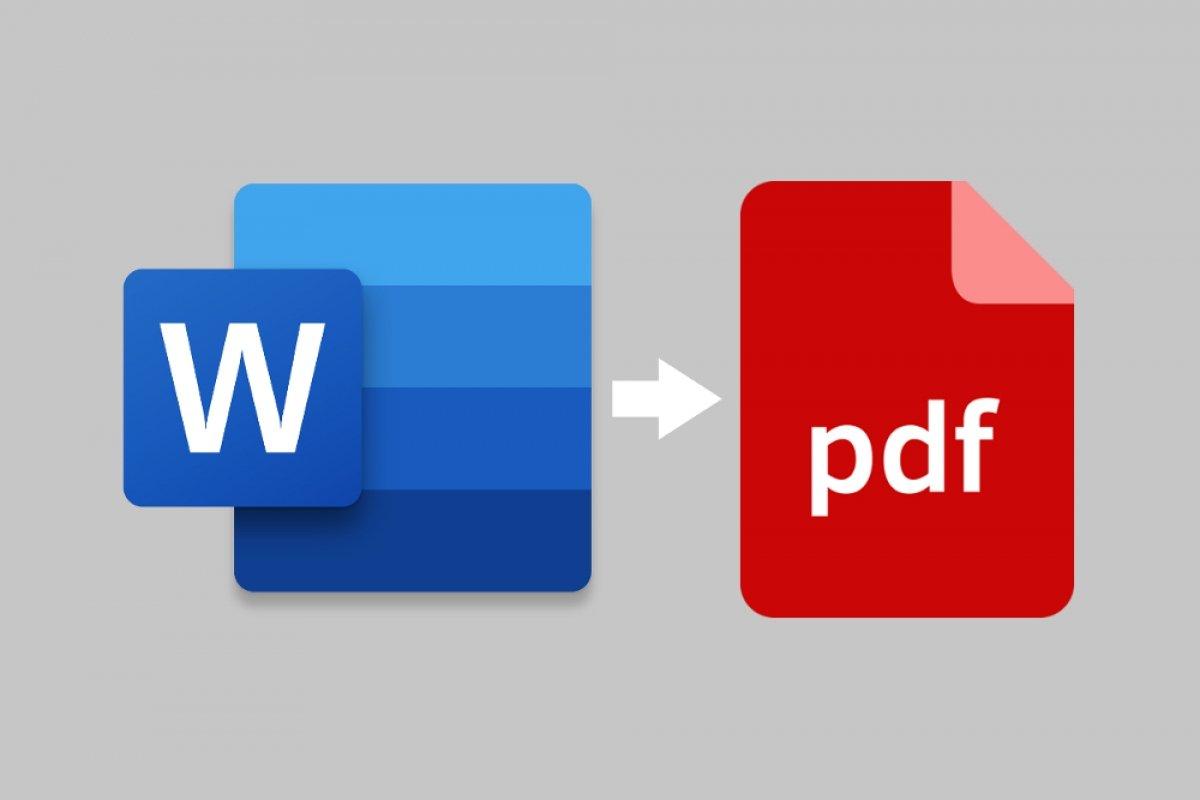 Cómo pasar de Word a PDF