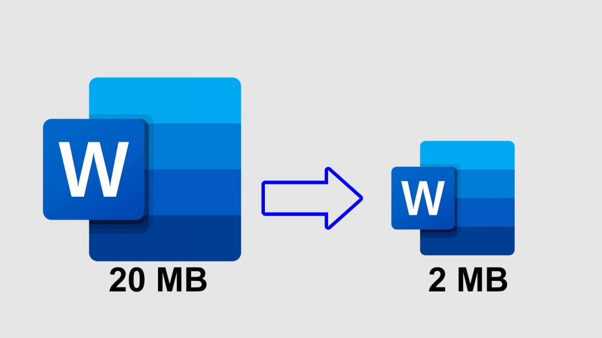 How to reduce the size of a Word file