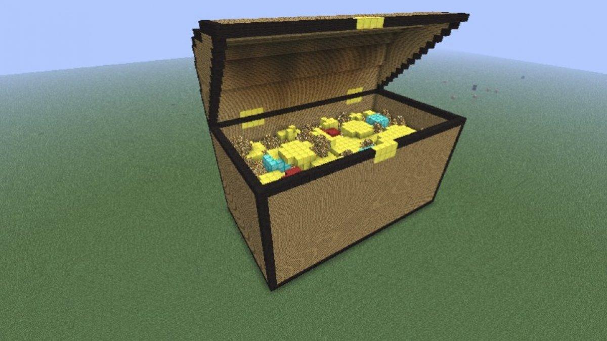 Cómo encontrar el tesoro oculto en el mundo tutorial de Minecraft