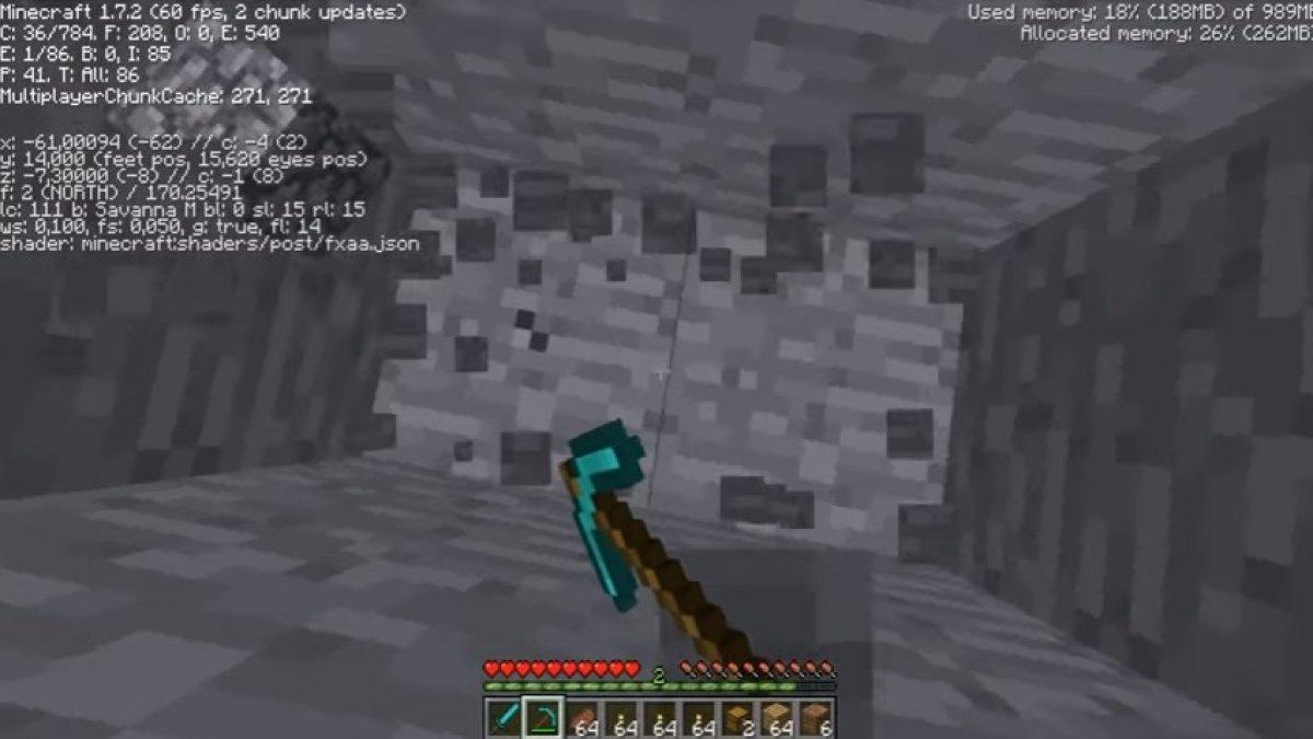 Dónde encontrar diamante en Minecraft