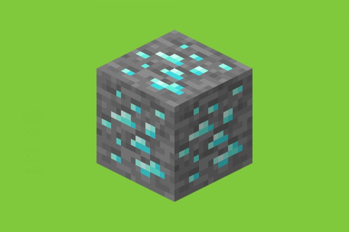 Cómo conseguir diamante en Minecraft