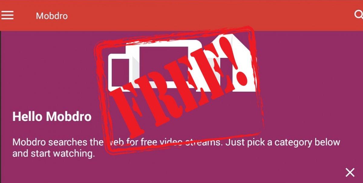 ¿Es Mobdro gratis?