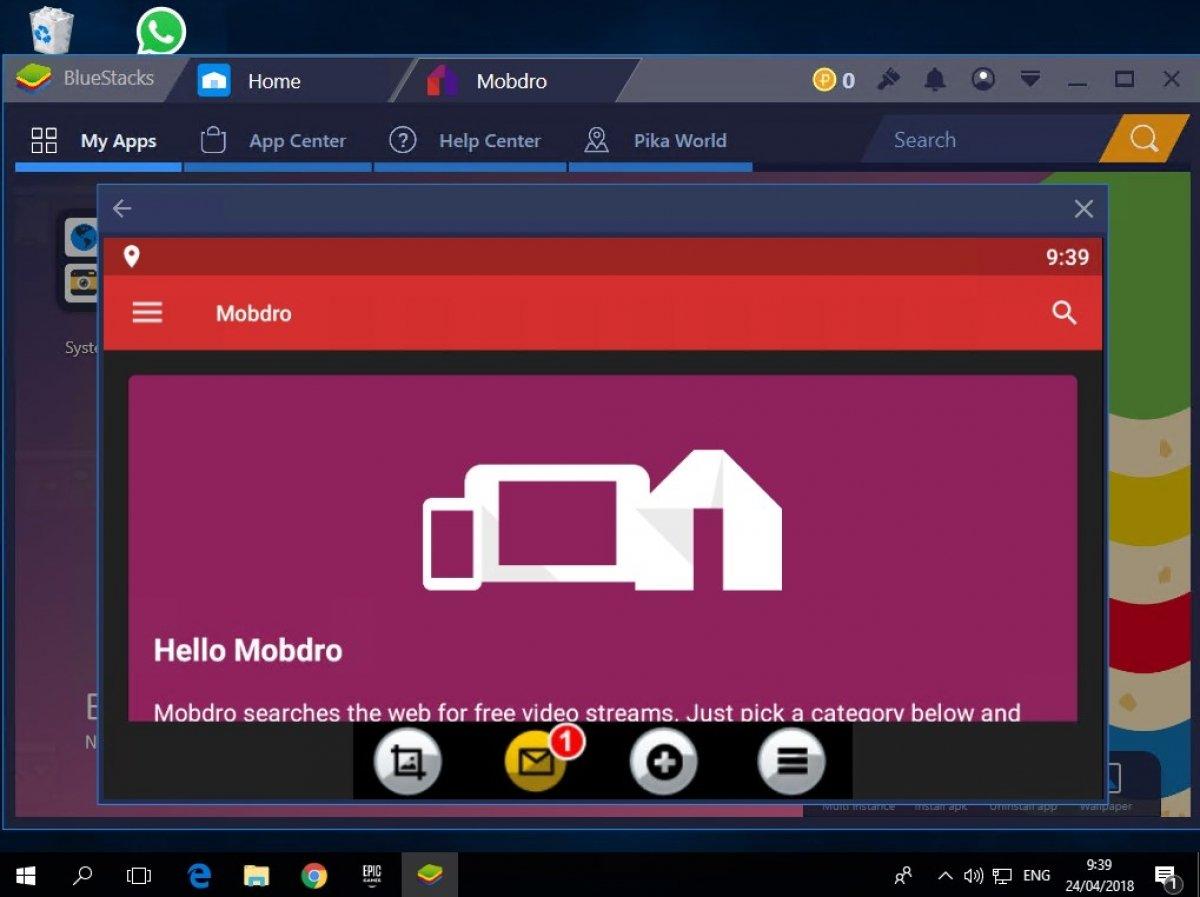 Cómo instalar Mobdro en Windows