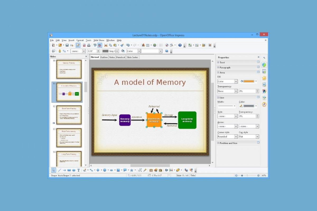 Qué es OpenOffice Impress