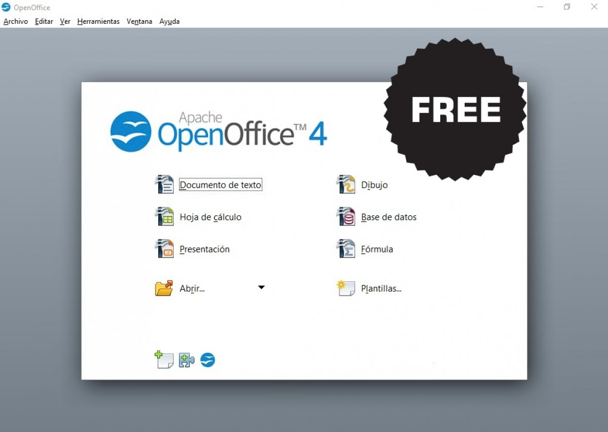 ¿Es OpenOffice gratis?
