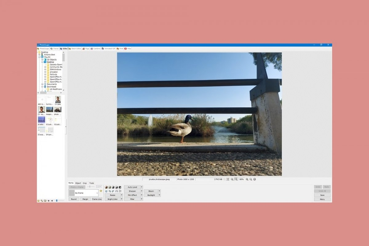How to edit images with PhotoScape