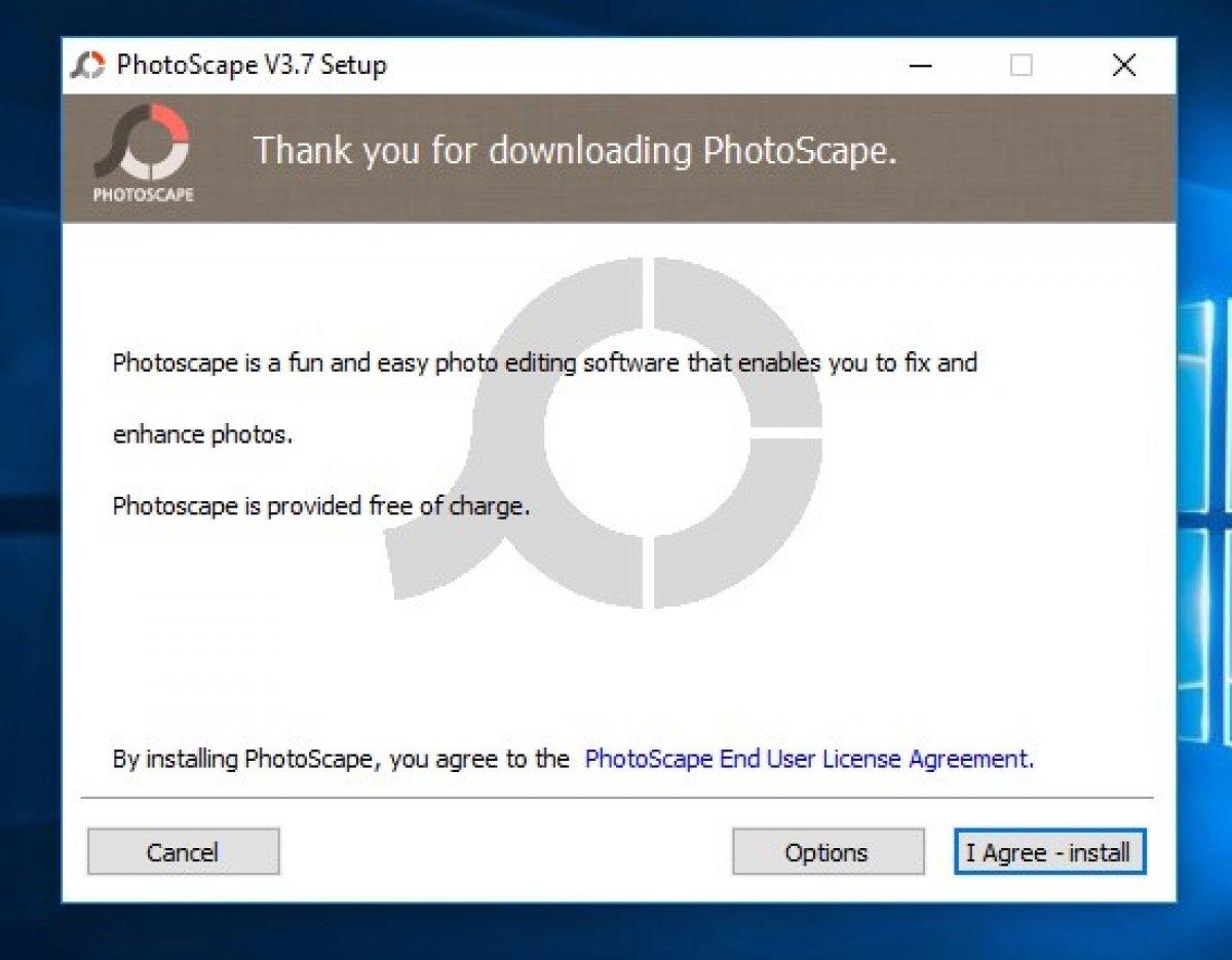 Cómo instalar PhotoScape