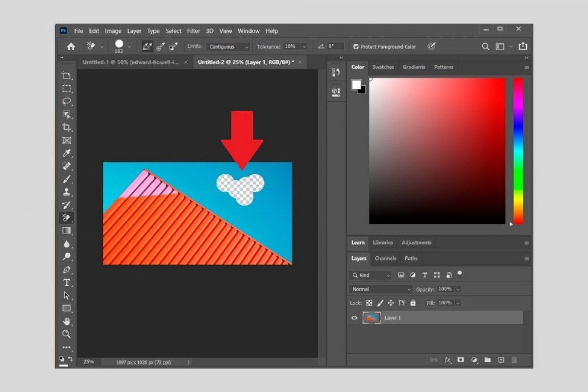 Cómo quitar el fondo de una imagen en Photoshop