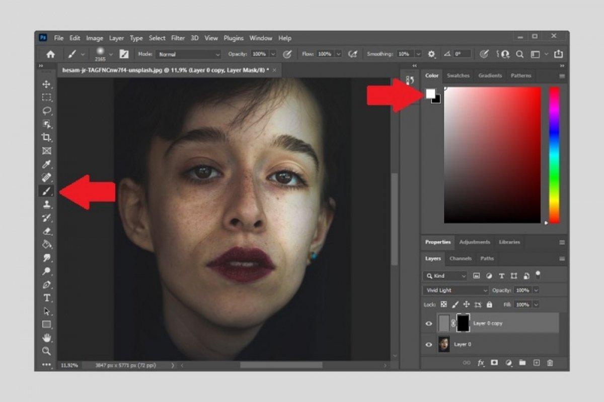 Cómo retocar un rostro con Photoshop