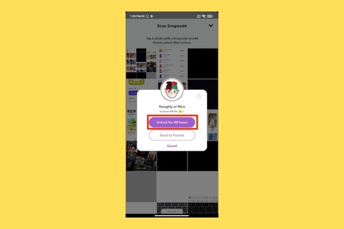 Cómo tener todos los filtros de Snapchat en Android