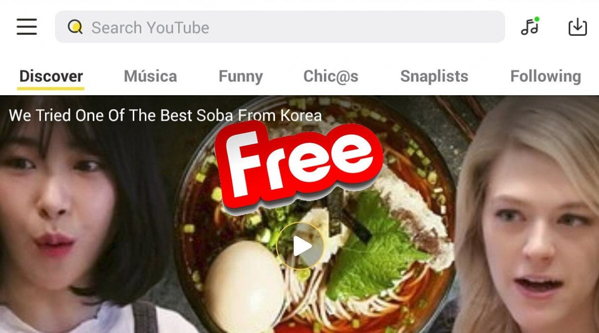 ¿Es SnapTube gratis?