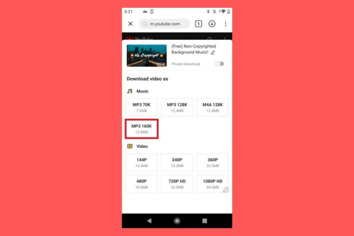 Cómo descargar música en MP3 con SnapTube